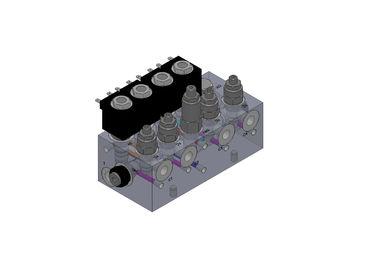 Diverse Blokken van aluminium de Hydraulische Kleppen voor Vorkheftrucksysteem