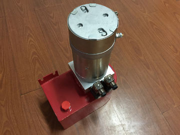 Verticaal die 12 Voltsgelijkstroom Hydraulische Eenheden van energie opzetten 210 bar voor vorkheftruck met verschillende snelheid