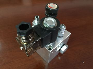 120mm/123mm Verzamelleidingen van het Aluminium de Hydraulische Blok voor Lift Hydraulisch Systeem