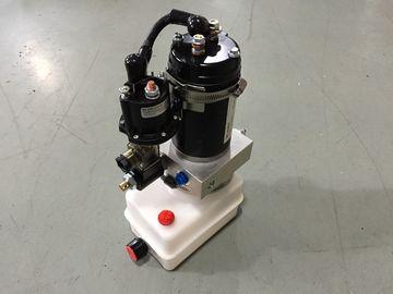 De horizontale Pakken van de Steun Draagbare Mini Hydraulische Macht 12V met 0.8Kw-Vuurvaste Motor